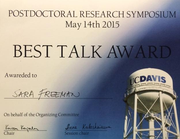 postdoc award